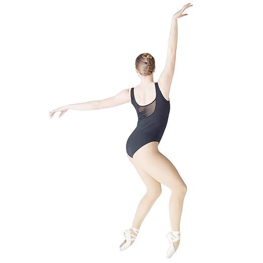 1ba5ea6efd Amazon.com  HDW DANCE Women Ballet Dance Leotard Sweetheart Mesh Neck  Sleeveless Cotton Bodysuit  Clothing