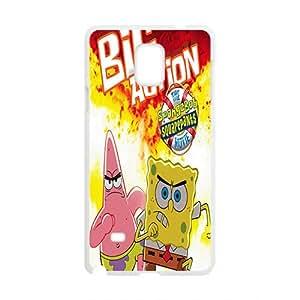 JIAJIA SpongeBob Case Cover For samsung galaxy Note4 Case