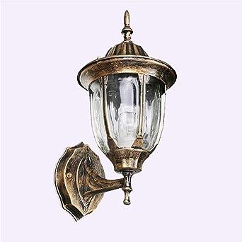 Lámpara de pared para exterior, peso ligero, impermeable (IP65 ...