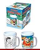 Kids Xmas Colour Your Own Christmas Mug