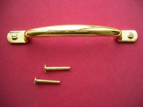 Brass Sash Pull Door Window Handle 96mm Back Fix Home Fusion