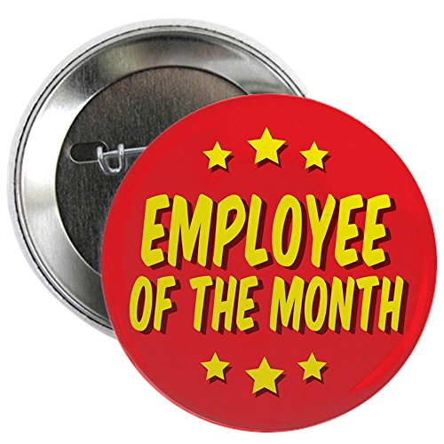 CafePress - Employee Of The Month 2.25&Quot; Button - 2.25' Button