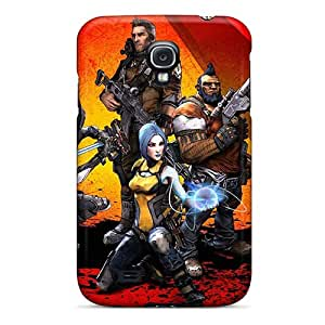 Bumper Hard Phone Covers For Samsung Galaxy S4 With Provide Private Custom Vivid Borderlands Pattern DrawsBriscoe