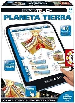 Educa Borrás - Educa Touch Planeta Tierra (14687): Amazon.es: Juguetes y juegos