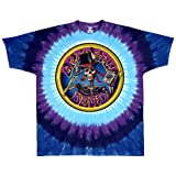 Liquid Blue Men's Grateful Dead Queen Of Spades Short Sleeve T-Shirt,Multi,X-Large
