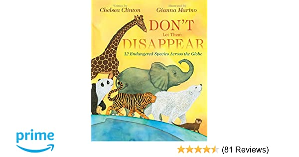 Don't Let Them Disappear: Chelsea Clinton, Gianna Marino