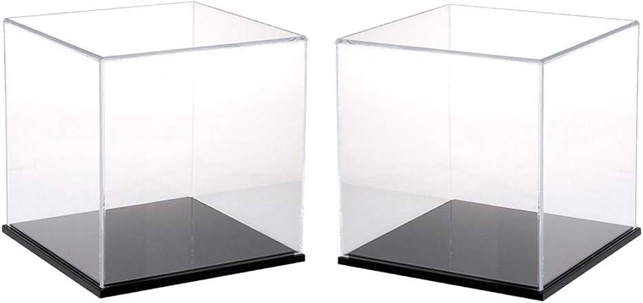 12cm//15cm//20cm//Acryl Einzelvitrine Vitrine Display Case Schaukasten Schutzbox