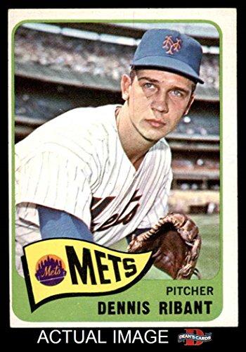 1965 Topps # 73 Dennis Ribant New York Mets (Baseball Card) Dean's Cards 4 - VG/EX