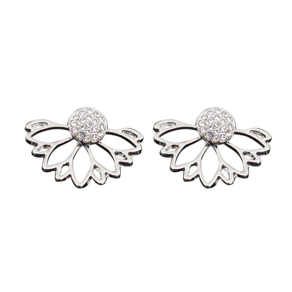 Toaimy Earings Womens Beautiful Rhinestone Alloy Drop Earrings Chain Irregular Geometric Earrings