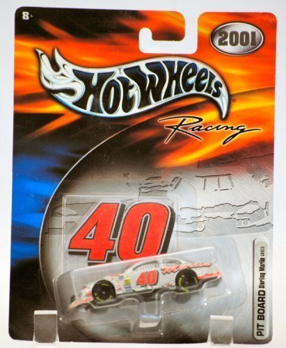 2001 - Mattel / Hot Wheels Racing - 2001 - Sterling Marlin / Dodge Interpid - Pit Board w/ Number - (Coors Light) - 1/64 Scale Die Cast Stock Car - MOC - Limited Edition - Collectible