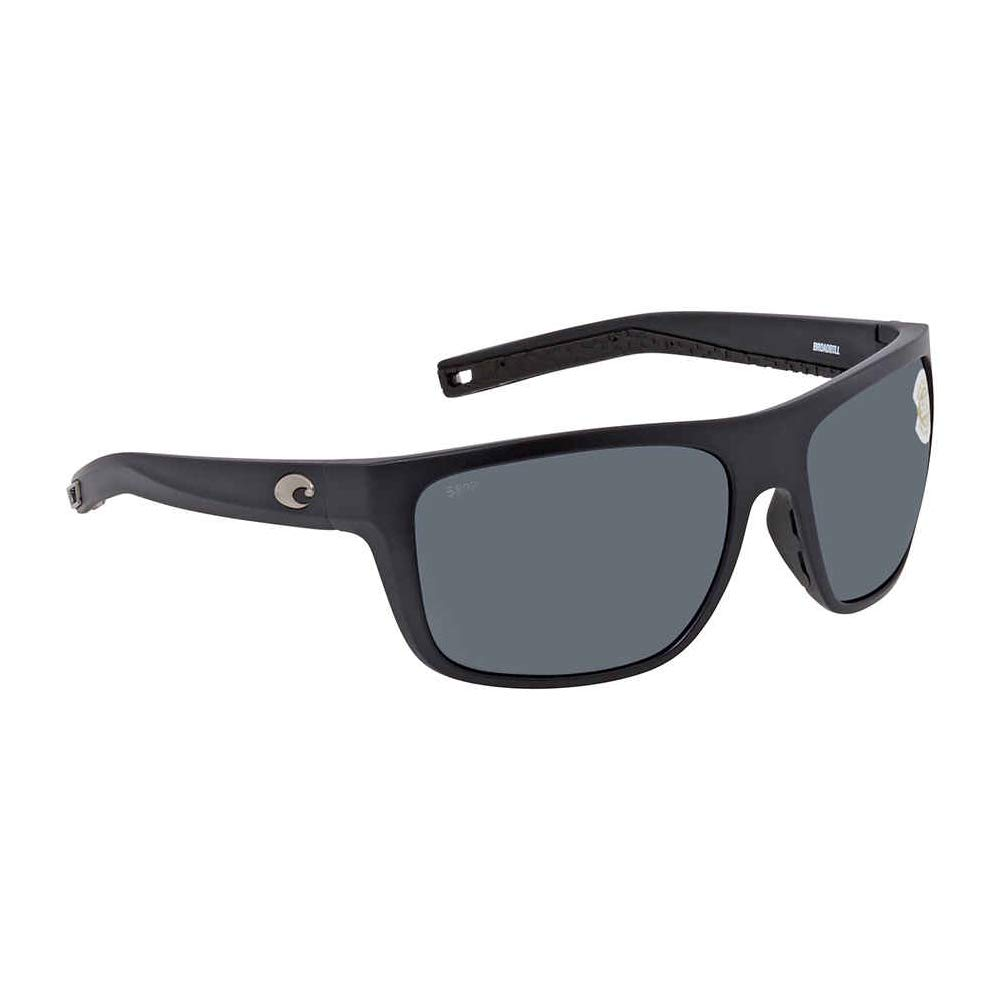 Costa Del Mar Broadbill Sunglasses Matte Black/Gray 580Plastic by Costa Del Mar