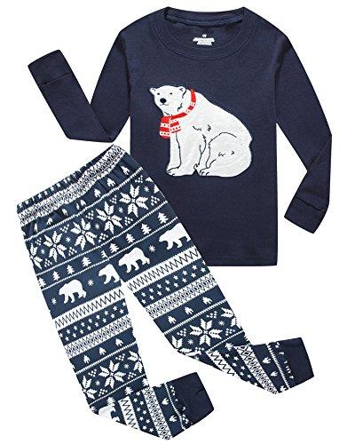 421d83677b خرید Dolphin Fish Boys Christmas Pajamas Big and Little Boys PJS ...