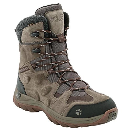 Jack Wolfskin M Northbay Texapore High - Mocca - EU 47.5 / UK 12.5 / US 13.5 - Wasserdichter leichter Herren Winter-Wanderstiefel