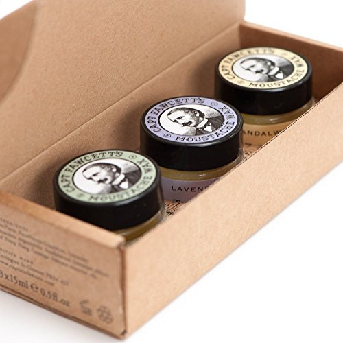 Captain Fawcett's Moustache Wax Trio by Captain Fawcett's by Captain Fawcett's