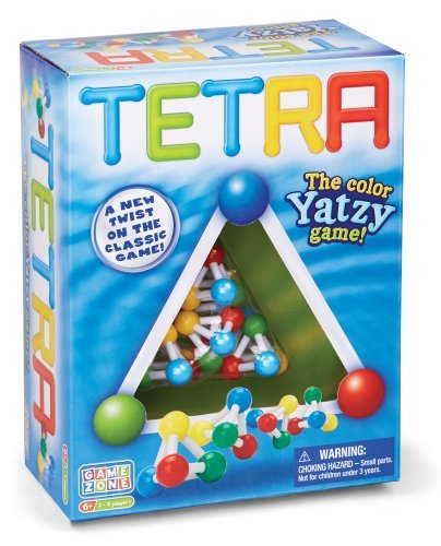 Tetra Game, color Yatzy by Quercetti