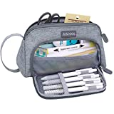Aiscool Big Capacity Pencil Case Bag Pen Pouch