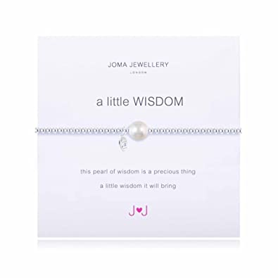 A Little Wisdom Pearl Bracelet By Joma