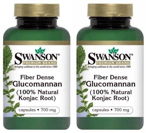 Swanson Premium Glucomannan Natural Capsules