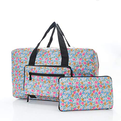 (Ditsy Doodle Foldable Holdall)