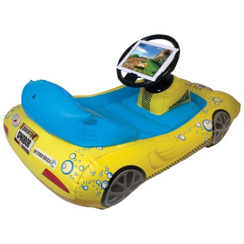 SpongeBob SquarePants Inflatable Sports Car for iPad by CTA Digital (Image #1)