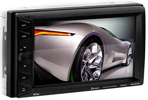 BOSS Audio BV9370B Car Stereo - Double Din, Bluetooth Audio and Hands Free Calling, 6.5 Inch Touchscreen LCD Monitor, MP3 Player, USB Port, SD Card Slot, AUX Input, AM/FM Radio Receiver (No CD/DVD)