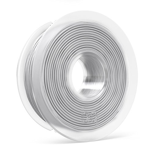 BQ F000116 – Filamento PLA de diámetro 1.75 mm, 300 g, color blanco puro