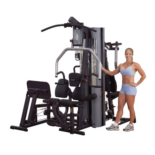 Body Solid G9S G-Series Two-Stack Gym with Multiple-Users Capability and Two 210-Pound Weight