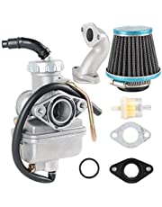 AUTOKAY PZ20 Carburetor for 50cc 70cc 90cc 110cc 125cc TaoTao Kazuma Baja NST SunL Chinese Quad 4 Stroke ATV 4 Wheeler Go Kart Dirt Bike Honda CRF50F XL75 CRF80F XR50R (PZ20 carb + air filter 35mm set)