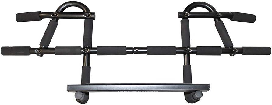 avec coussinets /à main Sans vis tr/ès r/ésistant Barre de traction // barre de porte SPORTHELD/® Premium extensible pour cadres de portes