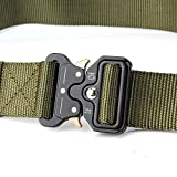 "YAMATE Men's Tactical Belt, W/1.7""-2""Military Combat..."