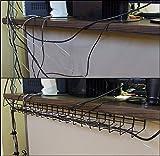 36 Inch Under Desk Cable Organizer Tray