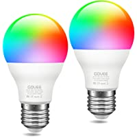 2-Pack Govee Smart WiFi RGBWW Color Changing Light Bulb Compatible with Alexa, Google Assistant for Home, Party, Bar