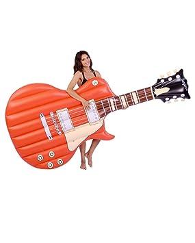 Horror-Shop Colchón de Aire de la Guitarra eléctrica 250 cm ...