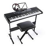 Joy 61-Key - Teclado electrónico estándar para teclas de piano