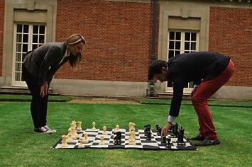 garden chess set. Large Chess Set Garden E