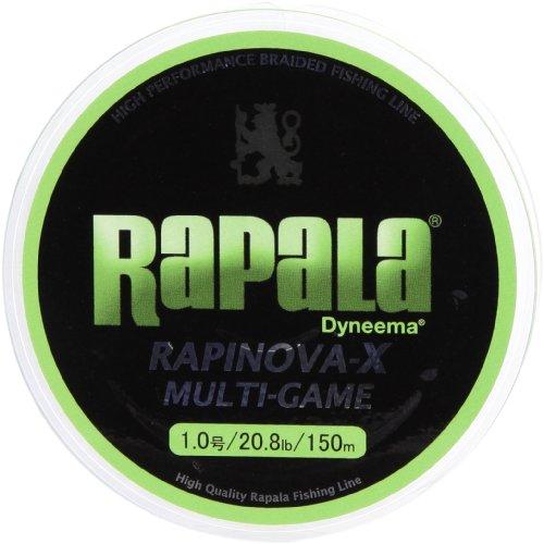 Rapala(ラパラ) ライン ラピノヴァX マルチゲーム 1.0号 20.8lb 150m ライムグリーン RLX150Mの商品画像