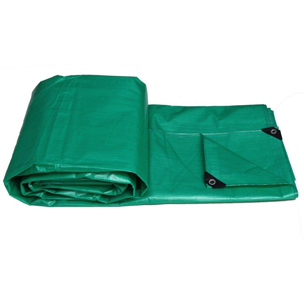 CHAOXIANG オーニング 厚い 防水 防塵の 日焼け止め 老化防止 軽量 PE 2色、 175g/m 2、 厚さ 0.32mm、 11サイズ (色 : 緑, サイズ さいず : 8×6m) B07D32GXNV 8×6m|緑 緑 8×6m