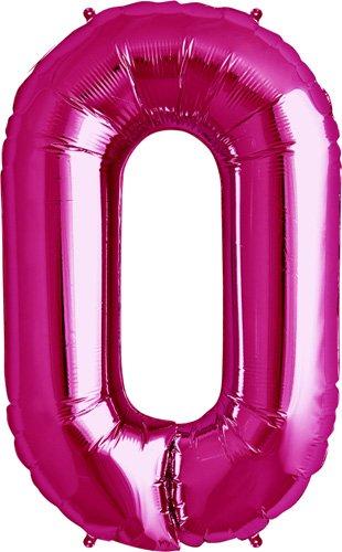 NorthStar Foil Balloon 000184 Letter O - Magenta, 34