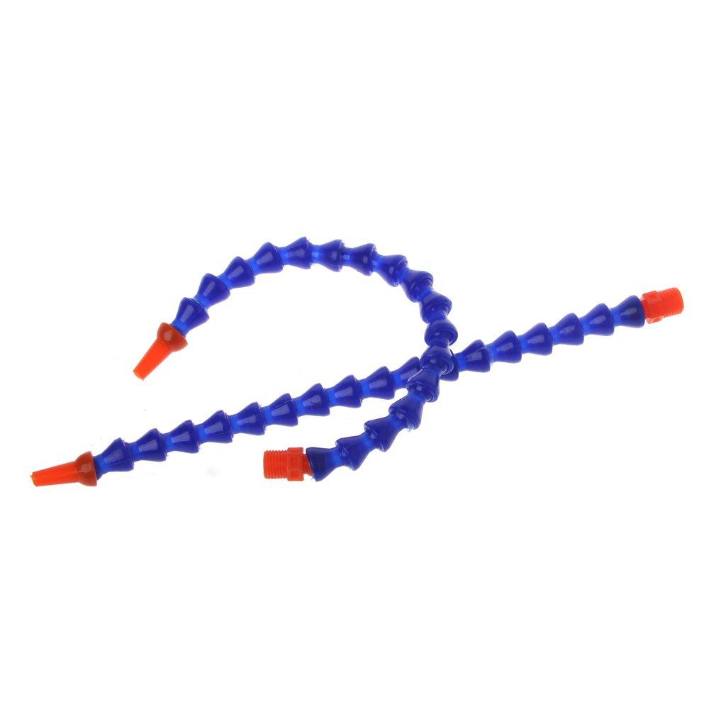 Rtengtunn Boquilla Redonda de 10 Piezas 1 4PT Manguera Flexible para tuber/ía de refrigerante de Aceite Azul Naranja