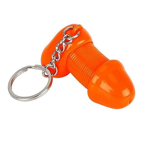 Amazon.com: Llavero para hombre con anillos de calcetín ...