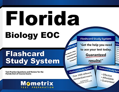 Florida Biology EOC Flashcard Study System: Florida EOC Test Practice Questions & Exam Review for the Florida End-of-Course Exams (Cards)