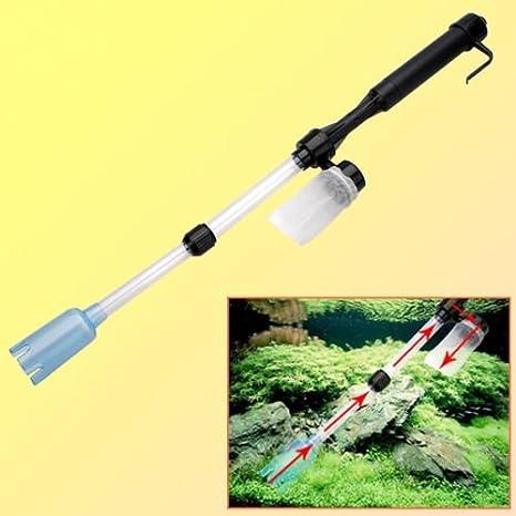 Generic DYHP-A10-CODE-4428-CLASS-1-- Bomba de filtro de agua para acuario con batería de grava para acuario o pecera, con batería para aspiradora de tipo ...