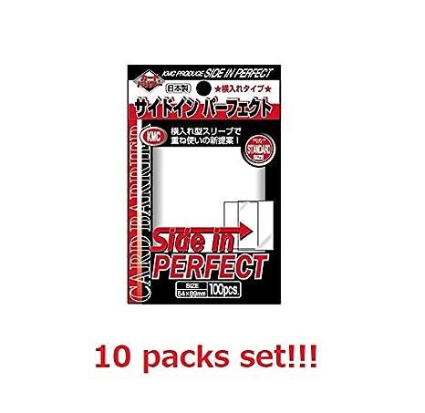 10 set!! ////// KMC Card Barrier sleeve PERFECT HARD from Japan