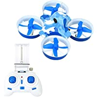 WiFi FPV RC Quadcopter with HD Aerial Camera Aircraft Drone Real-time Transmission Drone 2.4G 4CH 6-Axis Barometric Pressure Altitude Hold Toys for KK2DW (USB)