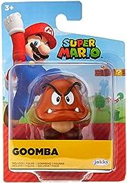 """Boneco Articulado Goomba, 2.5"""", Super Mario, Ca"""