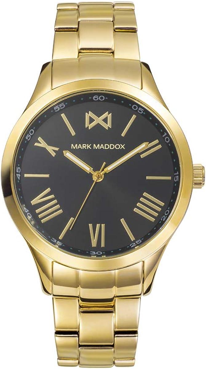Reloj en Acero Dorado Mark Maddox señora.MM7122-53