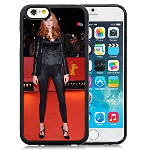 New Custom Designed Cover Case For iPhone 6 4.7 Inch TPU With Lily Cole Girl Mobile Wallpaper.jpg