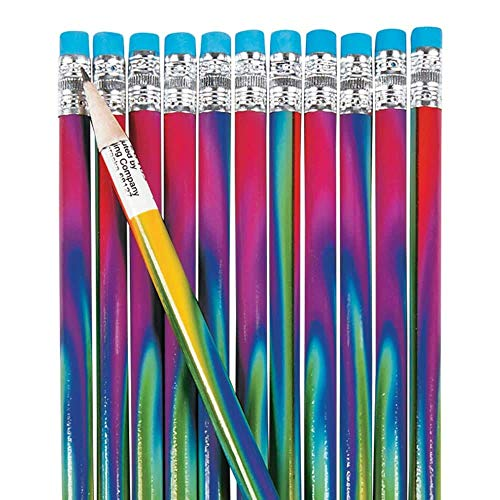 Fun Express Tie-Dyed Pencils - 24 Pieces]()