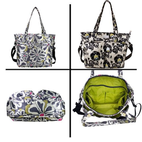 amy-michelle-charcoal-floral-new-orleans-go-work-stylish-tote-bag