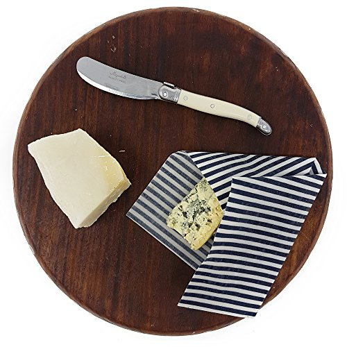 Beeswax Reusable Food Storage Wraps By Munch (Small, 2 Pack) Handmade in New Zealand, Biodegradable, Sustainable, Eco Friendly Lunch Bag, Bowl Cover Sheets